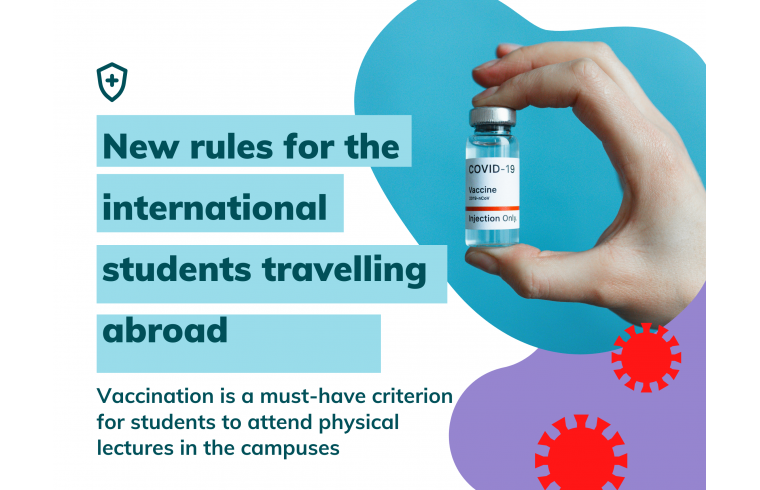 New rules for the international students travelling abroad
