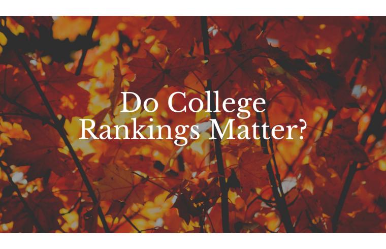 Do College Rankings Matter?