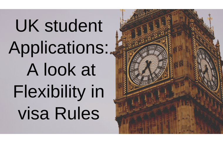 UK student applications: A look at flexibility in visa rules