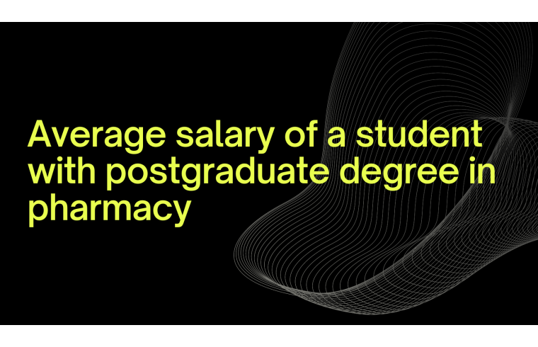 Postgraduate Pharmacy course details in Canada for international students